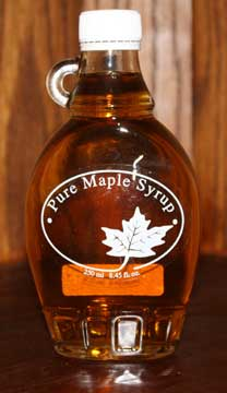 Showcase Maple Syrup Jar