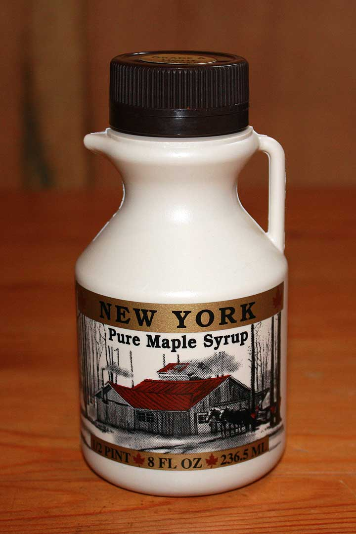 Half Pint Maple Syrup Bottle