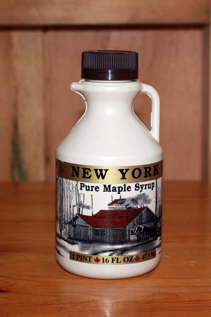 Pint Bottle Maple Syurp